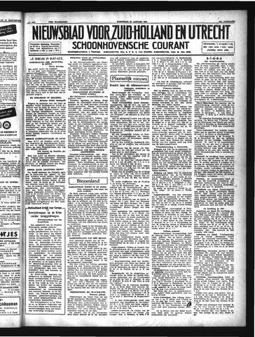 Schoonhovensche Courant 1942-01-21