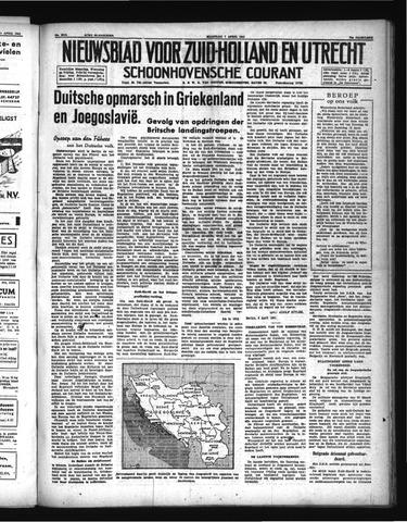 Schoonhovensche Courant 1941-04-07