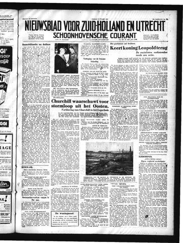 Schoonhovensche Courant 1950-03-17
