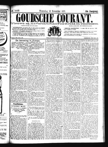 Goudsche Courant 1920-11-10
