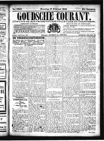 Goudsche Courant 1919-02-17