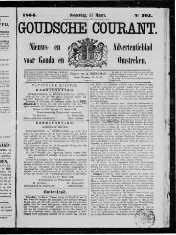 Goudsche Courant 1864-03-17