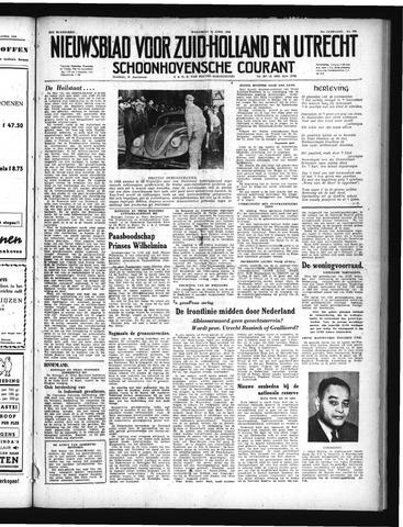 Schoonhovensche Courant 1949-04-20