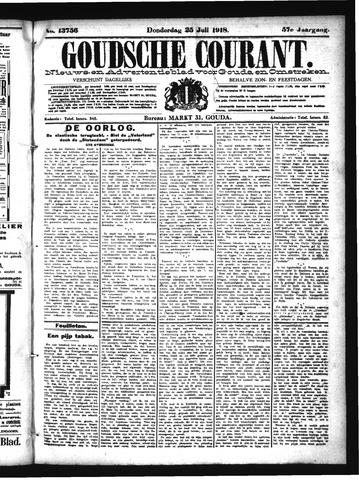 Goudsche Courant 1918-07-25
