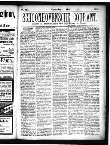 Schoonhovensche Courant 1913-05-14