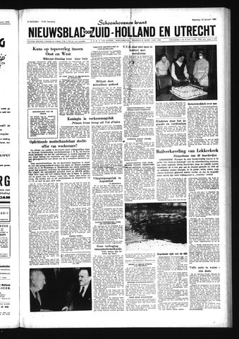 Schoonhovensche Courant 1959-01-19