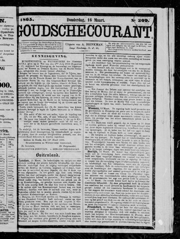 Goudsche Courant 1865-03-16