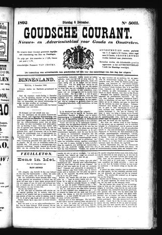 Goudsche Courant 1892-12-06