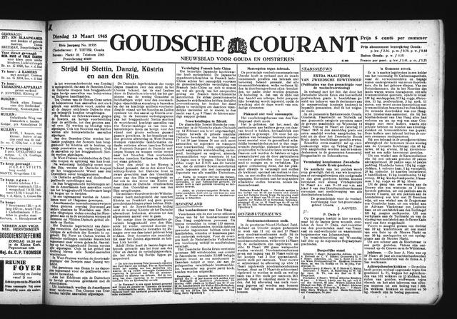 Goudsche Courant 1945-03-13