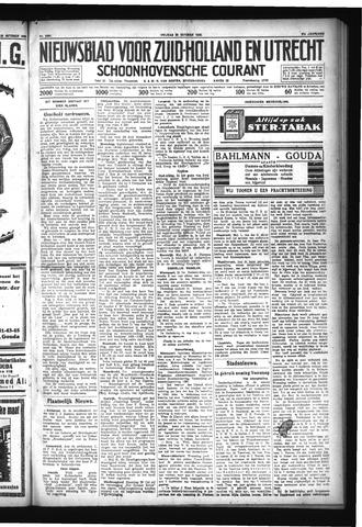 Schoonhovensche Courant 1929-10-25
