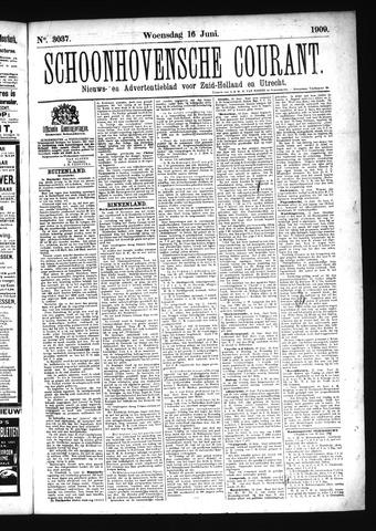 Schoonhovensche Courant 1909-06-16