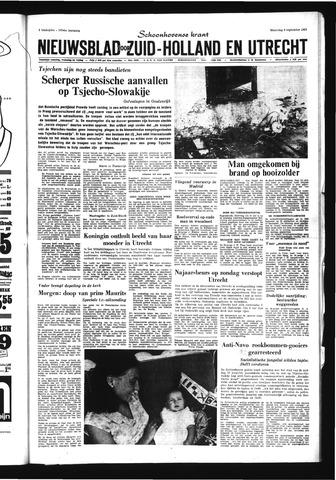 Schoonhovensche Courant 1968-09-09