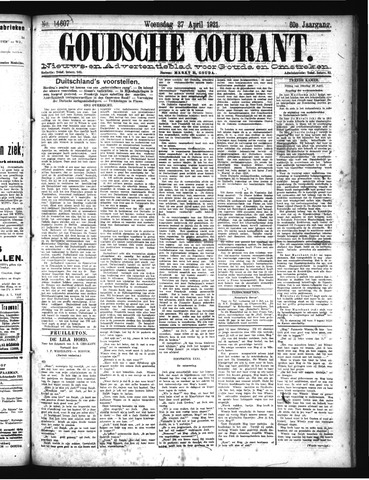 Goudsche Courant 1921-04-27