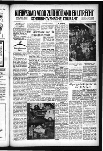 Schoonhovensche Courant 1954-08-25