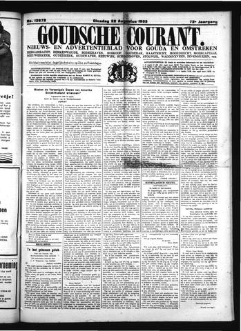 Goudsche Courant 1933-08-22