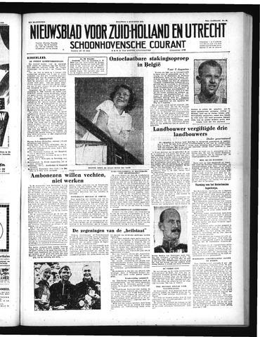 Schoonhovensche Courant 1952-08-04