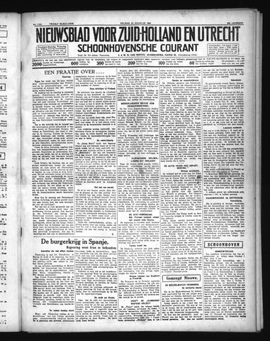 Schoonhovensche Courant 1936-08-28