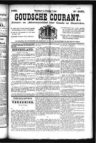 Goudsche Courant 1892-06-07