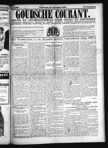 Goudsche Courant 1933-11-25