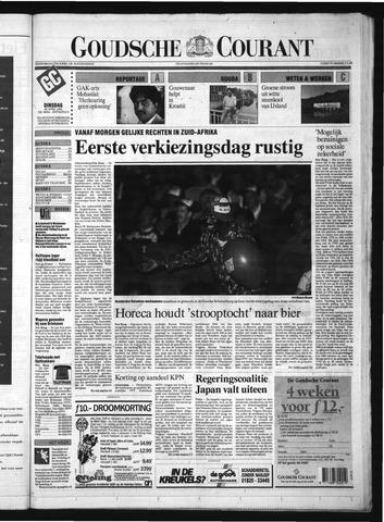 Goudsche Courant 1994-04-26