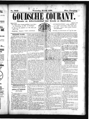 Goudsche Courant 1899-07-19