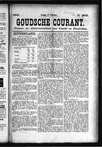 Goudsche Courant 1884-02-17
