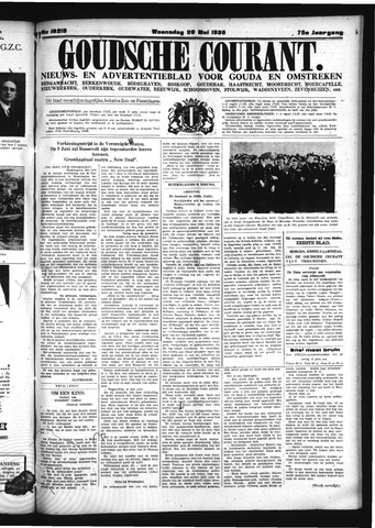 Goudsche Courant 1936-05-20