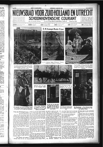 Schoonhovensche Courant 1933-08-02
