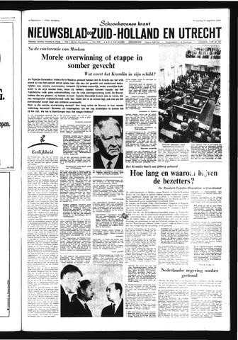 Schoonhovensche Courant 1968-08-28