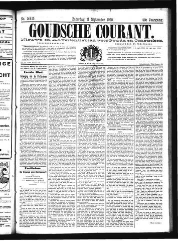 Goudsche Courant 1920-09-11