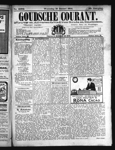 Goudsche Courant 1914-01-21
