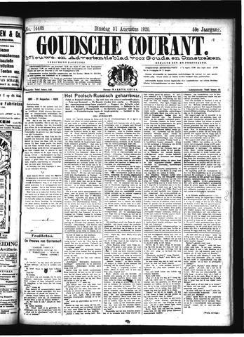 Goudsche Courant 1920-08-31