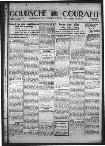 Goudsche Courant 1940-09-20