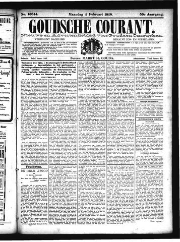 Goudsche Courant 1918-02-04