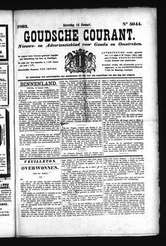 Goudsche Courant 1893-01-14