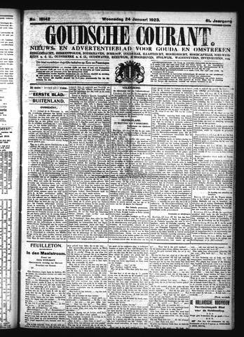 Goudsche Courant 1923-01-24
