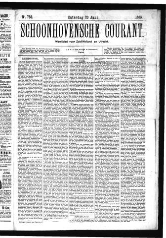 Schoonhovensche Courant 1883-06-23