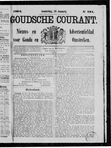 Goudsche Courant 1864-01-28