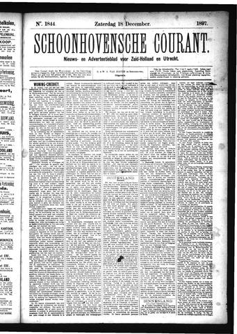 Schoonhovensche Courant 1897-12-18