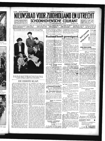 Schoonhovensche Courant 1939-12-13