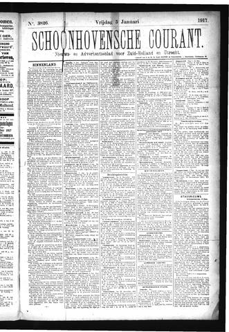 Schoonhovensche Courant 1917-01-05