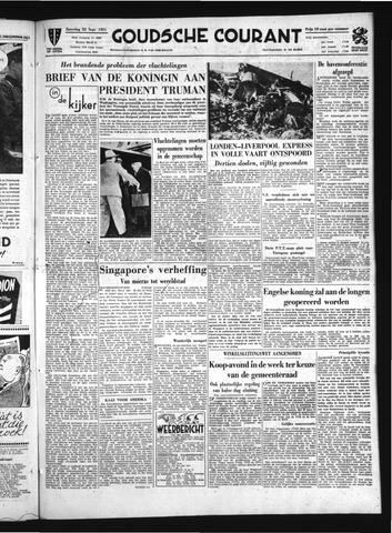 Goudsche Courant 1951-09-22