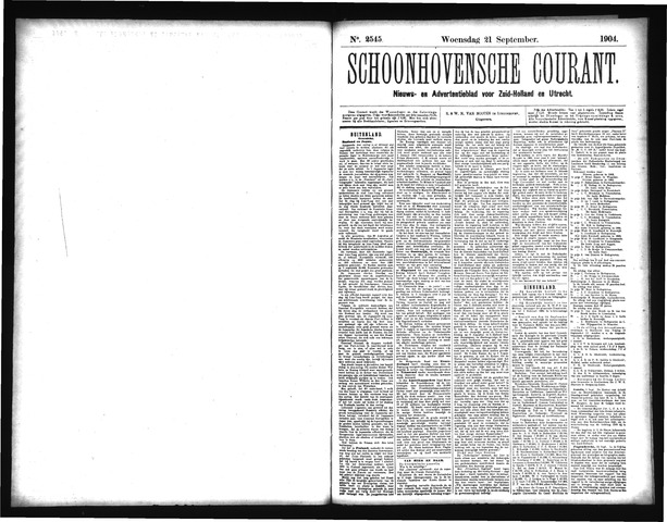 Schoonhovensche Courant 1904-09-21