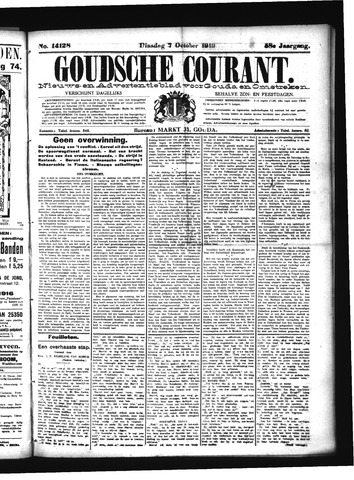 Goudsche Courant 1919-10-07