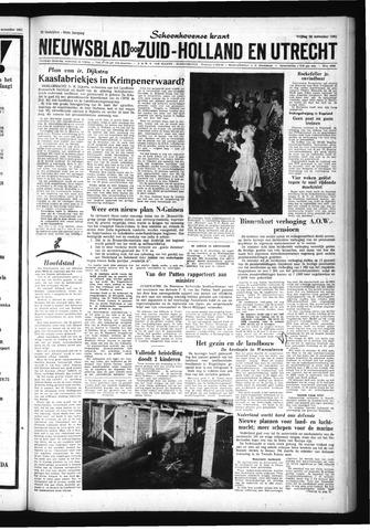 Schoonhovensche Courant 1961-11-24