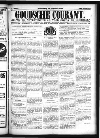 Goudsche Courant 1935-08-29