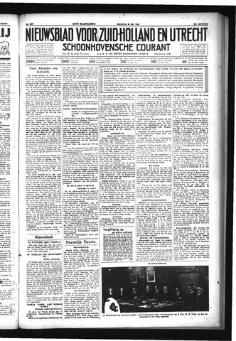 Schoonhovensche Courant 1933-05-29