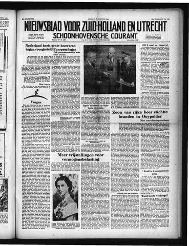 Schoonhovensche Courant 1951-08-22