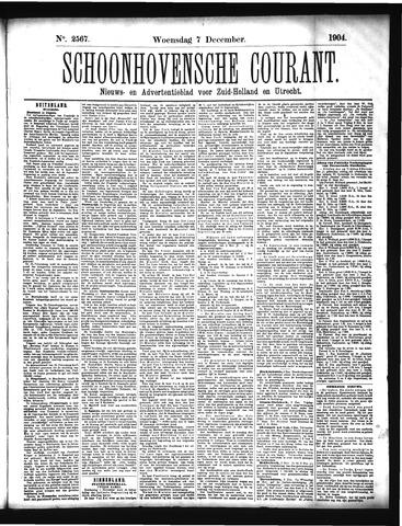 Schoonhovensche Courant 1904-12-07