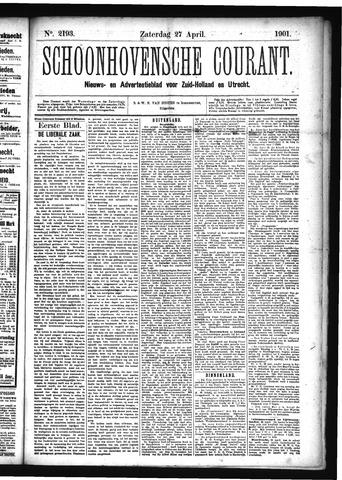 Schoonhovensche Courant 1901-04-27